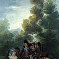 A Picnic by Francisco Goya