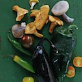 A Pile Of Vegetables by Romulo Yanes