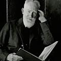 A Portrait George Bernard Shaw by Nickolas Muray