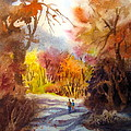 A Walk In The Fall by Mohamed Hirji
