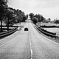 A69 Road On The Border Of Cumbria And Northumberland Uk by Joe Fox