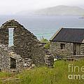 Abandoned Stone House, Slea Head by John Shaw