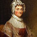 Abigail Smith Adams By Gilbert Stuart by Cora Wandel