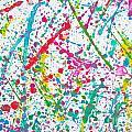 Abstract Color Splash by Aleksandar Mijatovic