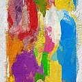 Abstract Colors by Steve K