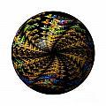 Abstract Globe by Henrik Lehnerer