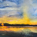 Abstract Landscape 8 by Susan Powell