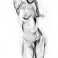 Abstract Nude by Steve K