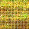 Abstract Vector Square Pixel Mosaic by Green Flame