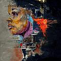 Abstract Women 015 by Corporate Art Task Force