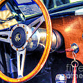 Ac Shelby Cobra Oil Painting by Accelerated Vision Photography
