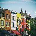 Adams Morgan Neighborhood In Washington D.c. by Mountain Dreams