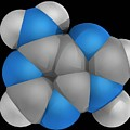 Adenine Molecule by Laguna Design/science Photo Library
