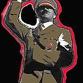 Adolf Hitler Saluting 2 Circa 1933 by David Lee Guss