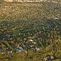 Aerial View Of Bellevue Skyline by Jim Corwin
