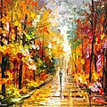 After The Rain by Leonid Afremov