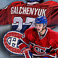 Galchenyuk Phone Cover by Nicholas Legault