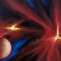 Agamnenon Nebula by James Christopher Hill