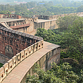 Agra Fort Tourist Destination In India by Brandon Bourdages