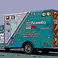 Alameda County Medical Support Vehicle by Samuel Sheats