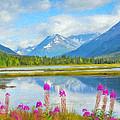 Alaskan Horizons Oil Painting by Patrick Wolf