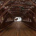 Albany Covered Bridge New Hampshire by Brenda Jacobs