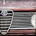 Alfa-romeo Guilia Super Grille Emblem by Jill Reger