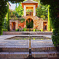 Alhambra In Granada by Karol Kozlowski