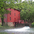 Alley Springs Mill  by James Pinkerton