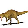 Allosaurus Dinosaur by Friedrich Saurer