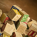 Alphabet Blocks by Edward Fielding