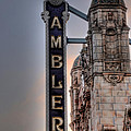 Ambler Theater - Ambler Pa by Bill Cannon
