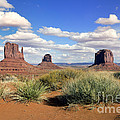 American Landscape - Monument Valley by King Wu