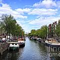 Amsterdam Canal by Ivy Ho