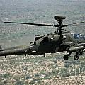 An Apache Ah64d Helicopter by Paul Fearn