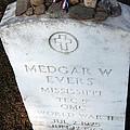 Medgar Evers -- An Assassinated Veteran by Cora Wandel