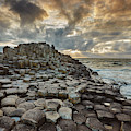 An Evening View Of The Giants Causeway by Nigel Hicks