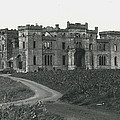 Ancient Castle Goes Up In Smoke. Blown Up By 500 Of by Retro Images Archive