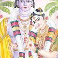 Andal Krishna by Parimala Devi Namasivayam