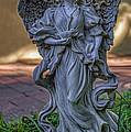 Angel With Bird by Jerry Gammon