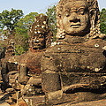 Angkor Thom South Gate by David Davis