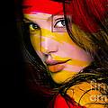 Angleina Jolie by Marvin Blaine