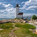 Annisquam Lighthouse by Liz Mackney