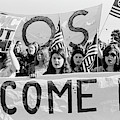 Anti Vietnam War Demonstration by Underwood Archives Adler