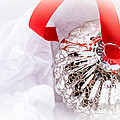 Antique Glass Christmas Tree Bauble by Jane Rix