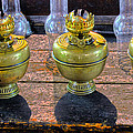 Antique Kerosene Lamps by Dave Mills