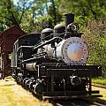 Antique Locomotive by Jane Rix