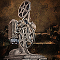 Antique Movie Projector by Ronel Broderick