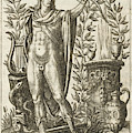 Apollo Pythias, The Greek God by Mary Evans Picture Library