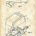 Apple Mouse Patent 1984 - Vintage by Stephen Younts